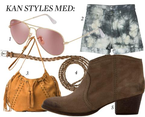 GODE KJP: Shoppingtips til hva du kan style blusen med. Foto: Produsentene