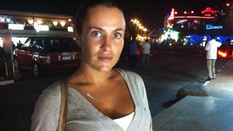 HJEMME IGJEN: Svenske Gabrielle vet ikke hvorfor hun ikke informerte sin bekymrede familie om at hun hadde det bra i Egypt. Foto: Expressen