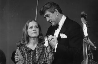 KLIPPEN: Rock Hudson var en uvanlig st�tte for Ullmann da hun kom til Hollywood.