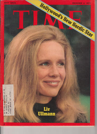 COVERGIRL: P� coveret av Time Magazine i 1972.