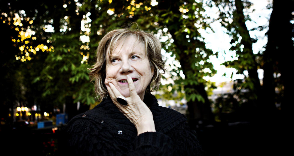 IKKE GLED DEG JENS: Gerd-Liv Valla kommer ut med selvbiografi denne høsten. Under Oslo Bokfestival snakket hun litt om hva vi kan forvente. Foto:Nina Hansen / Dagbladet