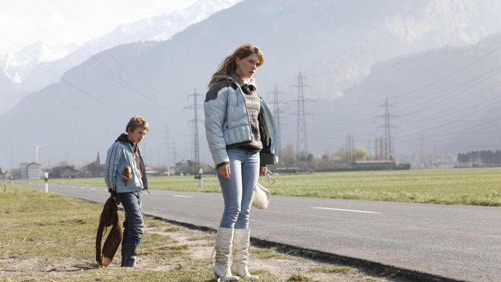 SIMON OG LOUISE: Kacey Mottet Klein og L�a Seydoux spiller hovedrollene i sveitsiske �Min s�ster�.