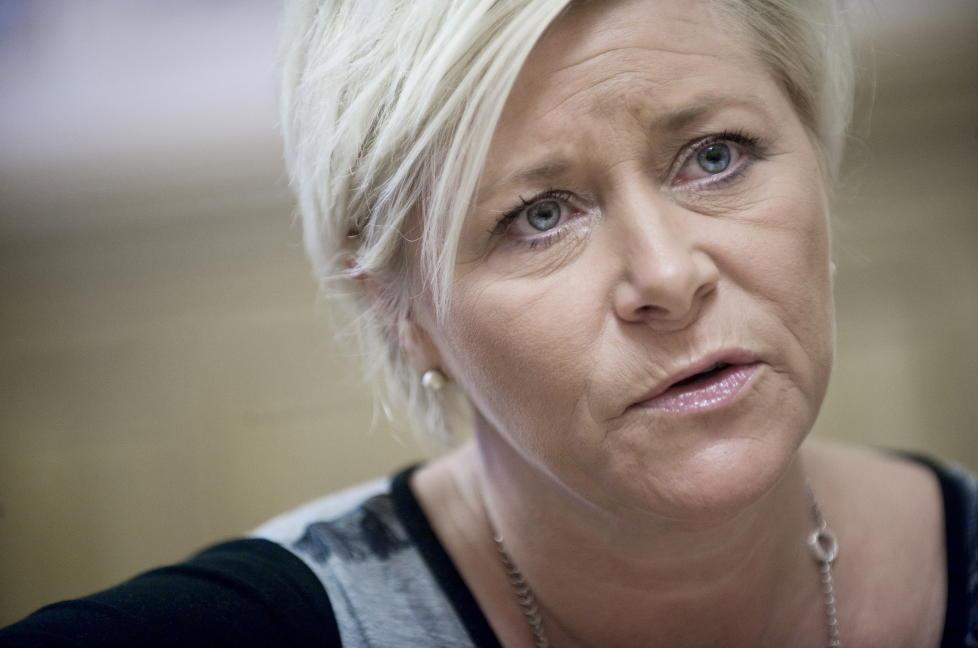 SIV JENSEN: Vil ha slutt p� at utenlandske kriminelle f�ler de har det godt i norske fengsel. Foto: Benjamin A. Ward / Dagbladet