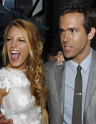 Blake Lively og Ryan Reynolds har giftet seg