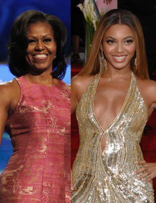 Michelle Obama er akkurat som Beyonc�
