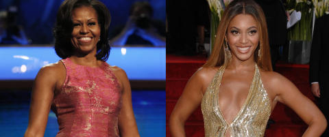 Michelle Obama er akkurat som Beyonc