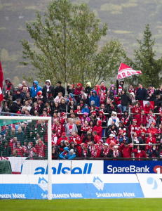 Politiet stoppet Brann-fans som ville inn i garderoben