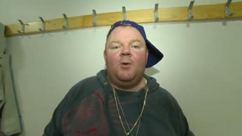SUNNM�RSRAPPER: Arne Per forteller at det ikke var bare enkelt � g� inn i rollen som rapper.