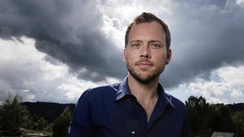 PENGEKRANGEL: SV-Leder Audun Lysbakken var sterk uenig med Olav Gunnar Ballo om SVs partiskatt. Foto: Christian Roth Christensen / Dagbladet