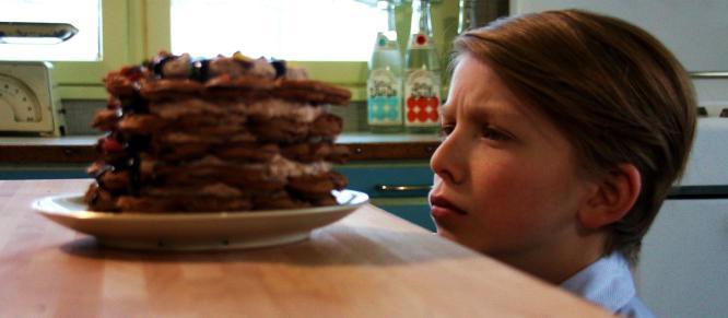Hvem har sagt at du ikke kan spise vafler midt i uka?