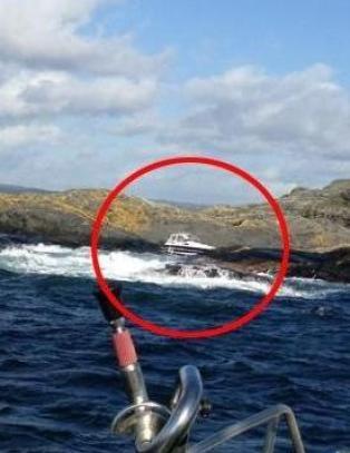 Her stoppet fisketuren inne p� grunnfjellet