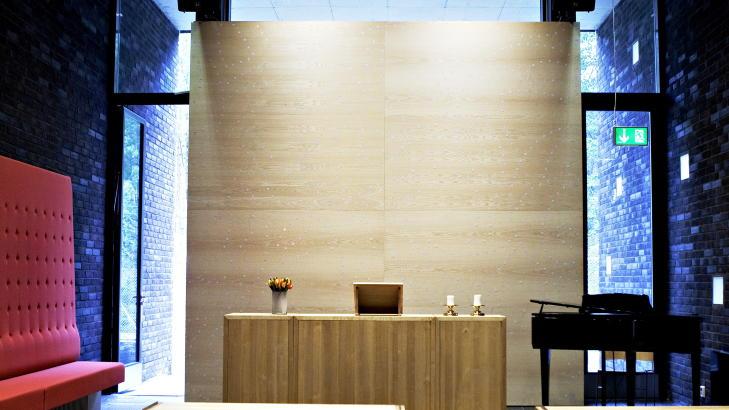 INTERIØR: Halden fengsel ble nominert til en prestisjetung arkitektpris  i 2011. Foto: Nina Hansen / Dagbladet