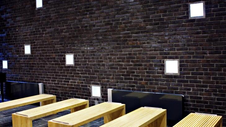 PENT: Mange deler av fengselet er innredet av interiørarkitekter. Foto: Nina Hansen / Dagbladet