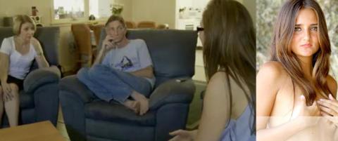 Her forteller Catarina (20) mor og far at hun selger jomfrudommen p� nett