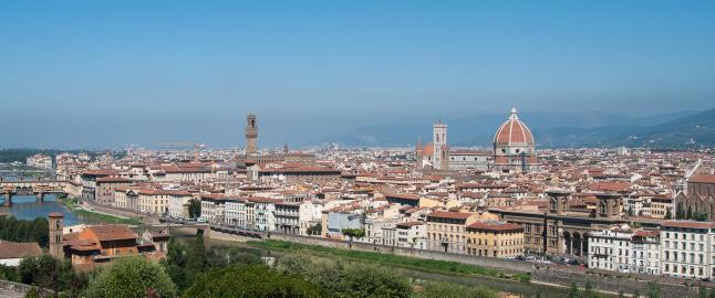 Her er byen som bergtok da Vinci og Michelangelo