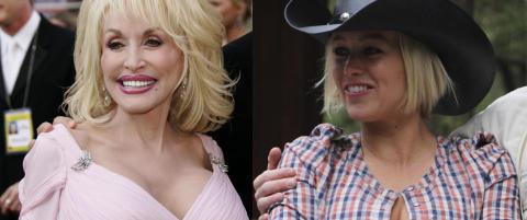 Hanne S�rvaag fikk personlig gave fra Dolly Parton