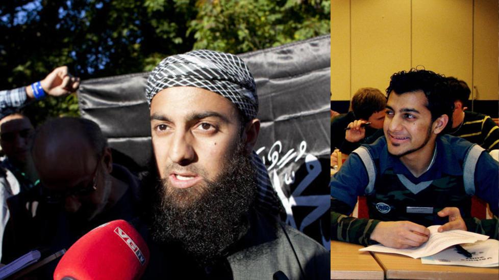 FORVANDLINGEN: I dag er den 27 �r gamle norskpakistaneren sint og hatsk. Bildet til h�yre er tatt for vel et �r siden. Blid og omgjengelig. Foto: Sara Estiri / Dagbladet, privat