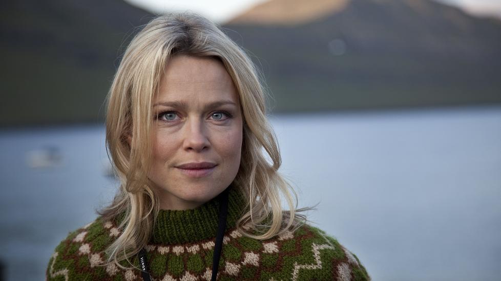 HEMMELIG GIFT: Den danske skuespilleren Helle Fagralid har giftet seg. Her i rollen som Eydis i NRK-serien �Buzz Aldrin�. Foto: Oscar Lovn�r / NRK