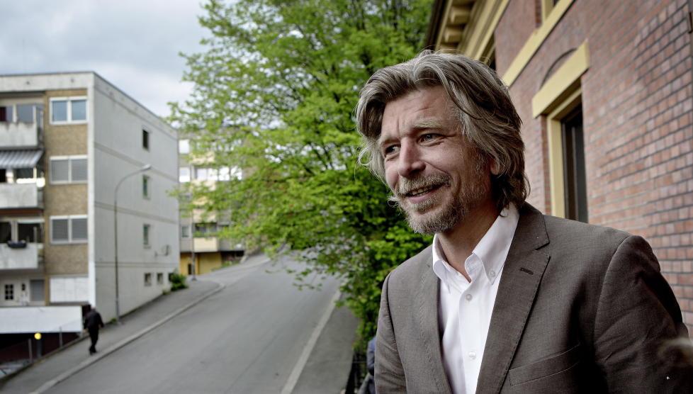 PELIKANEN FORLAG: Karl Ove Knausg�rd gir ut tegneserie p� nystartet forlag. Foto: Lars Eivind Bones / Dagbladet