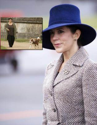 Kronprinsesse Mary i sorg