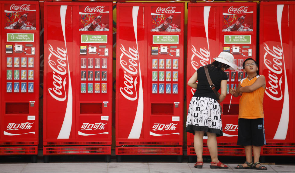 Марка Coca-Cola уже не имеет национальности, флага или границ . . Эт