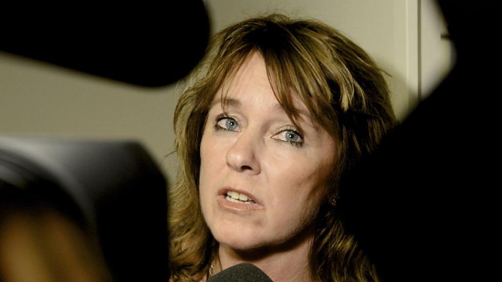 HEDRES: Nina Johnsrud, journalist i Dagsavisen, tildeles Fritt Ords Honn�r.   Foto: H�kon Eikesdal