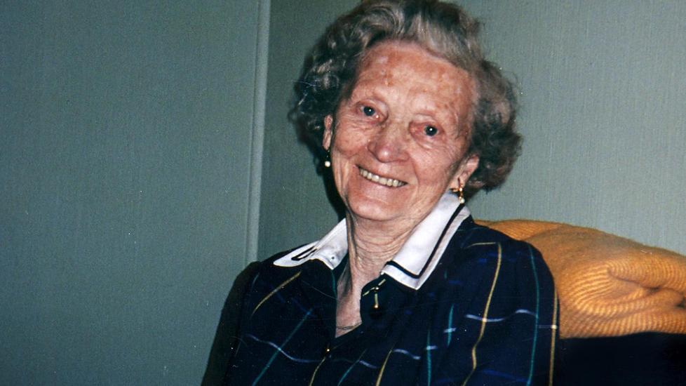 Vital kvinne: Hilda Feste var vel ansett som en omgjengelig, belest og sv�rt oppeg�ende person i lokalsamfunnet i Os.