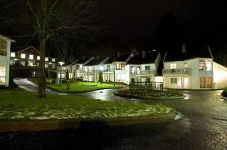 Fredelig: Her, i eldrebolig-komplekset Gamleheimshagen, bodde Hilda Feste.