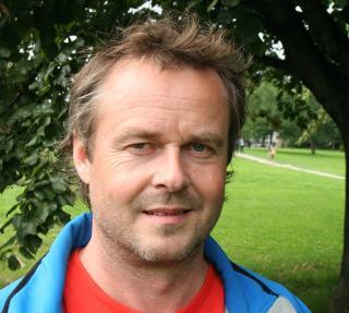 MOBILISERER: Fagleder i Naturvernforbundet Arnodd H�pnes samler styrkene til den politiske kampen. Foto: Naturvernforbundet.