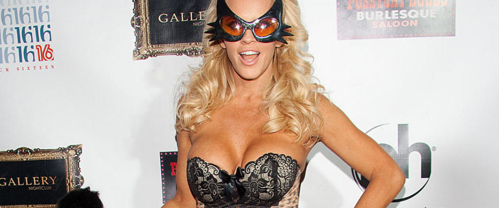 Jenny McCarthy hadde sex med et tre i pillerus