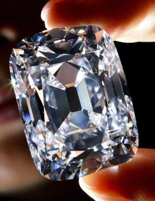 Verdens største slebne diamant