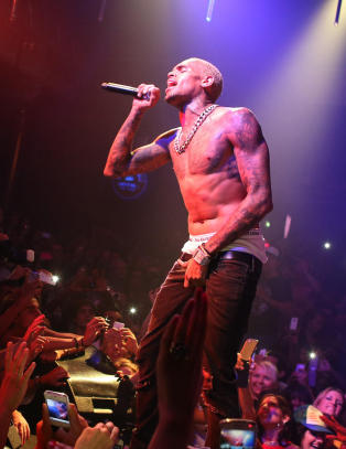 Chris Brown slaktes for Kbenhavn-konsert