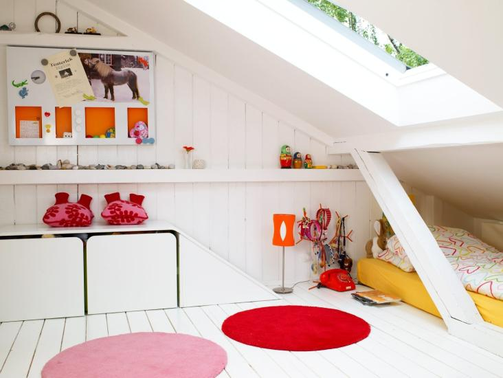 barnesone små barnerom eller lekestuer kan fungere godt på loft foto ...