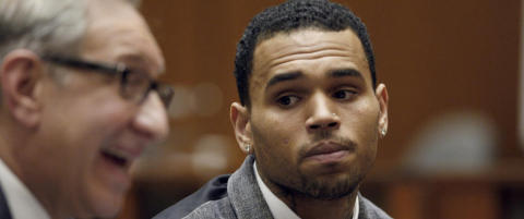 Chris Brown sletter profilen etter pinlig Twitter-krangel