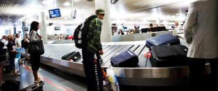 - Vi rakk flyet videre, men bagasjen kom ikke f�r etter tre dager