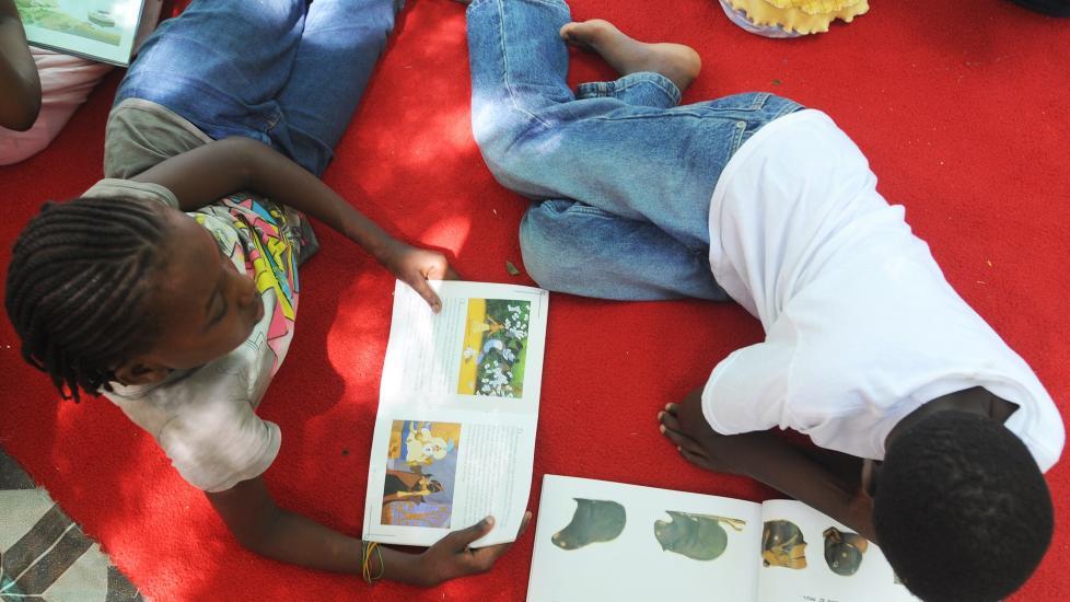 Nødhjelp til Haiti i regi av Bibliotek uten grenser (bildet er fra dagbladet.no)