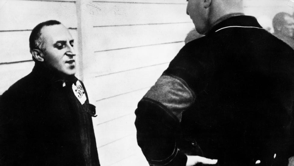 I KONSENTRASJONSLEIR :  Carl Von Ossietzky rundt 1935, �ret han vant Nobels fredspris. Foto: SCANPIX.