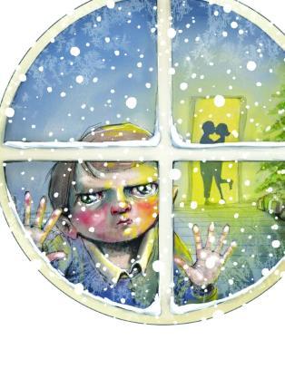O jul med din vrede