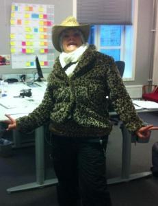 - � bli k�ra til Norges tredje-verst kledde kvinne krever faktisk litt jobb