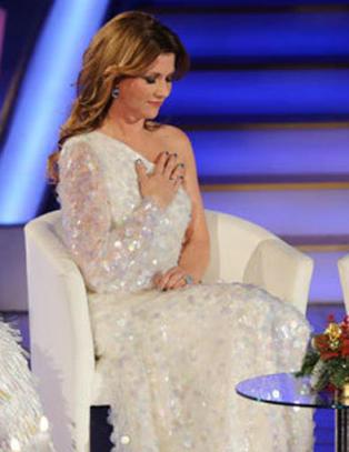 Prinsesse Märtha Louise søkte skytsengelen sin i fem minutter foran seks millioner tyske tv-seere