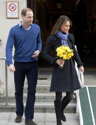 Kate og William i sorg