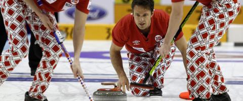 Curlinggutta �pnet med seier mot Sveits og Russland