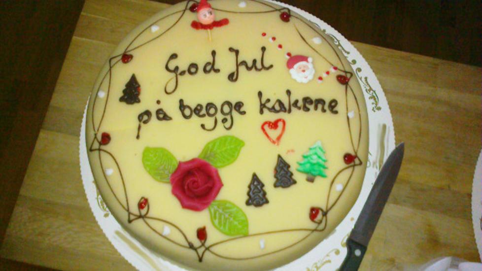GOD JUL...: ...på begge kakene. Foto: Hans Lennart Sævik / Kystverket