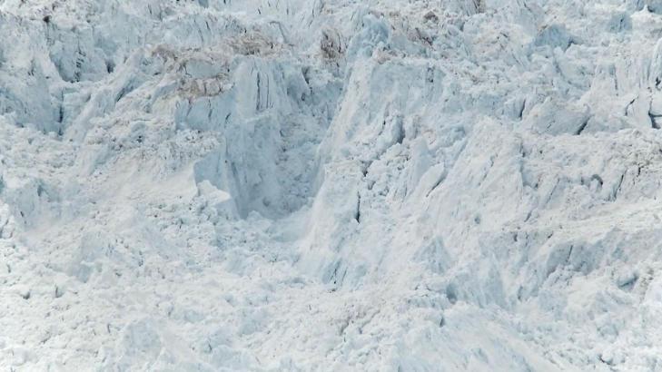 ENORMT: Filmskaper James Balog sammenlikner kalvingen med at Manhattan skulle brutt sammen.