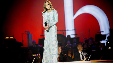 NOBEL HOST: Actress Sarah Jessica Parker hosted the Nobel Peace Prize Concert on Sunday. Her make up artist was charged with theft twice during their stay in the Norwegian capital Oslo. Foto: Thomas Rasmus Skaug / Dagbladet