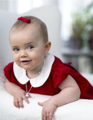 Slik �nsker Sveriges juleprinsesse god jul
