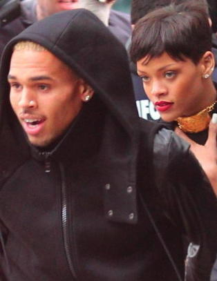 Rihanna og Chris Brown sammen i jula