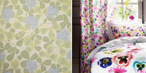 FLORA OF FAUNA: Blomster og blader kommer til � prege trendbildet. FOTO: H&M Home, Borge