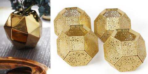 GULL OG GLAMOUR: Vi vil ha metaller i alle varianter. FOTO: Produsenten, Fargerike