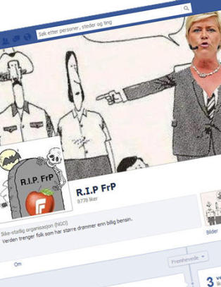 Politikere hater politikere p Facebook